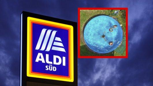 Doppelte Enttäuschung für einen Aldi-Kunden! Der Pool, den er beim Discounter kaufen wollte, war nach wenigen Sekunden ausverkauft. (Symbolbild)
