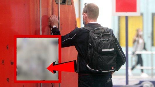 In Mülheim wurde ein Bahnmitarbeiter bedroht. Der Täter hatte allerhand dabei. (Symbolbild)