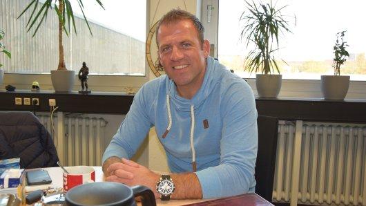 Christian Mikolajczak ist jetzt Feuerwehrmann in Oberhausen.