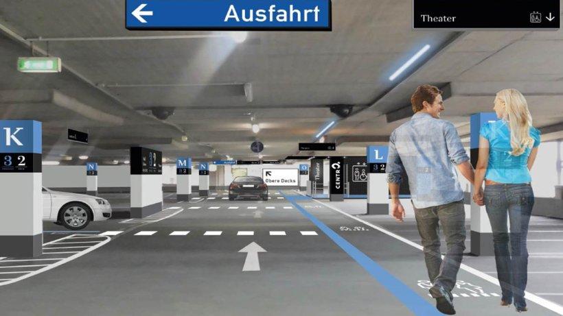 oberhausen neues parkhaus im centro hilft bei parkplatzsuche oberhausen. Black Bedroom Furniture Sets. Home Design Ideas