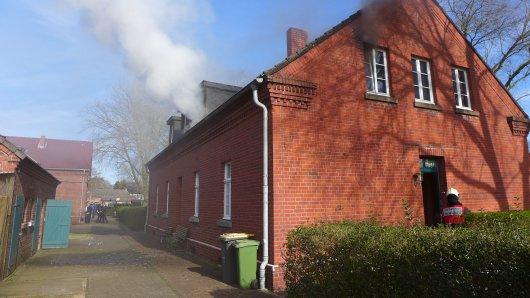 Der Brand konnte von der Feuerwehr schnell gelöscht werden.