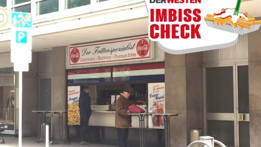 In der Mittagspause ist der Imbiss eine Anlaufstelle für viele Oberhausener.