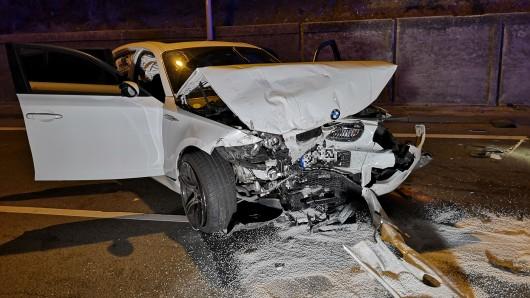 Eine alkoholisierte Oberhausenerin verursachte am Samstag einen Unfall.