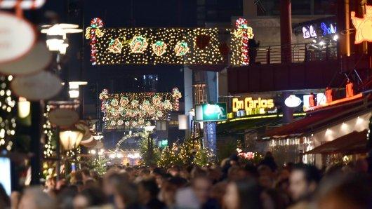 Am Centro Oberhausen gibt es jedes Jahr einen stimmungsvollen Weihnachtsmarkt.