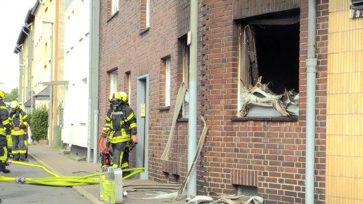 Oberhausen: In einem Mehrfamilienhaus kam es zu einem Brand.
