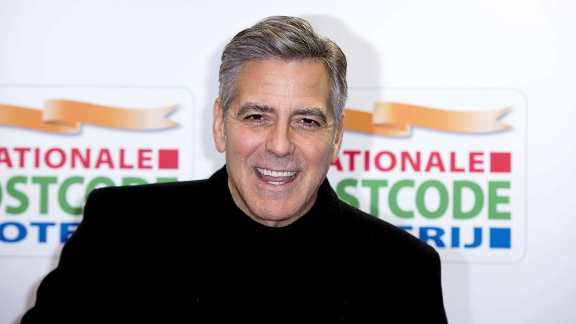george clooney gibt behindertem hund ein neues zuhause panorama. Black Bedroom Furniture Sets. Home Design Ideas