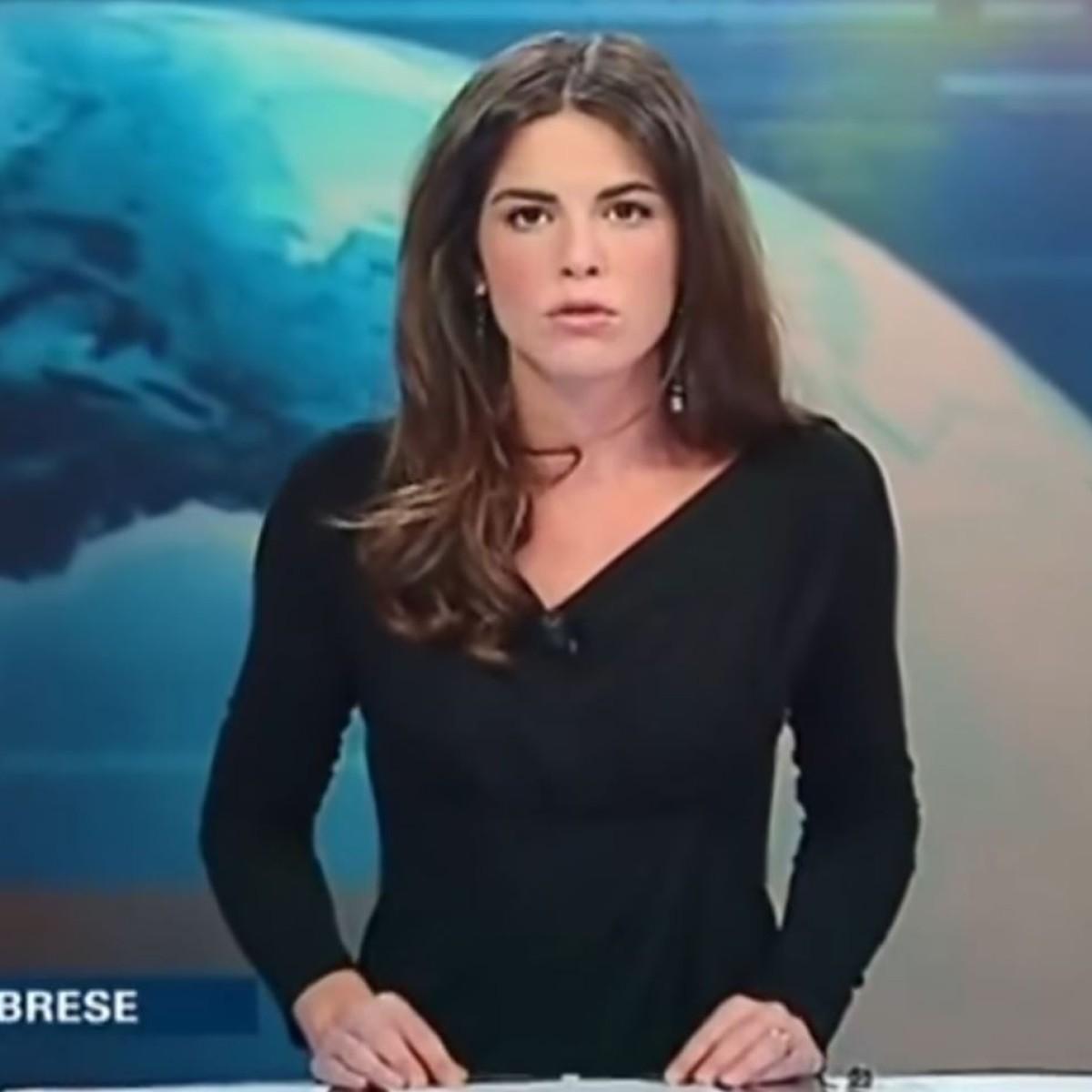 Ohne slip moderatorin Paola Ferrari