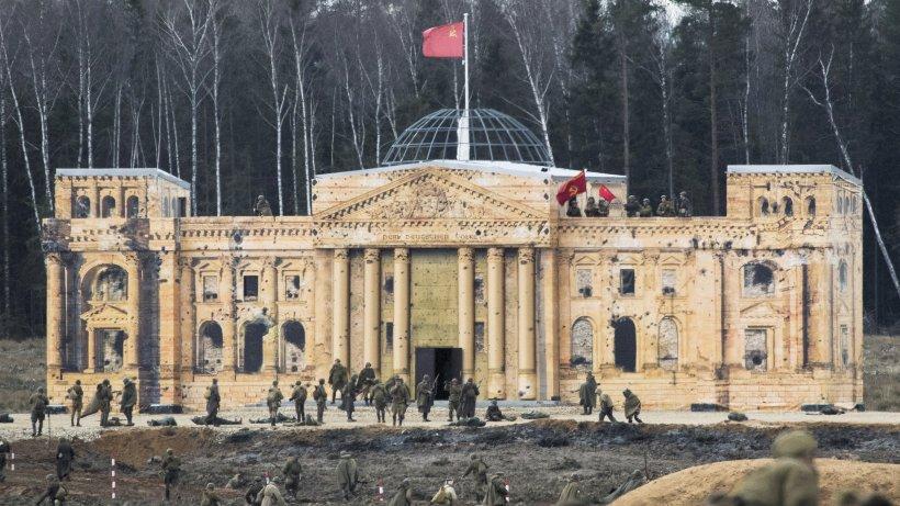 Am Panzermuseum Kubinka wird Reichstagssturm zum Event - Derwesten.de