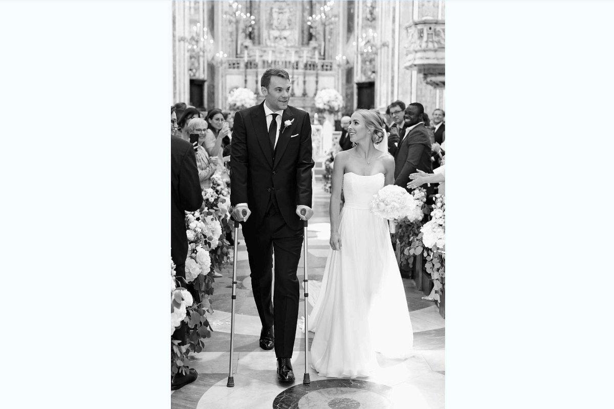 Neuer Manuel Hochzeit