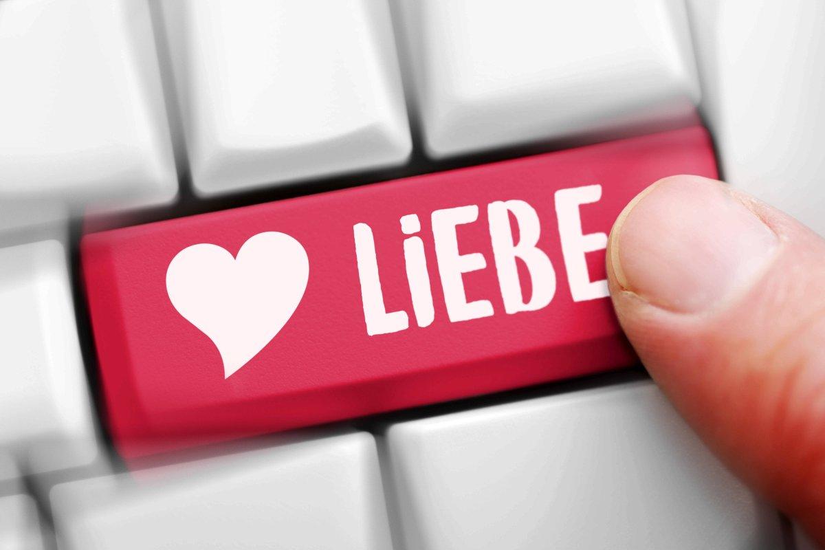 Internet Dating Liebesgeschichte