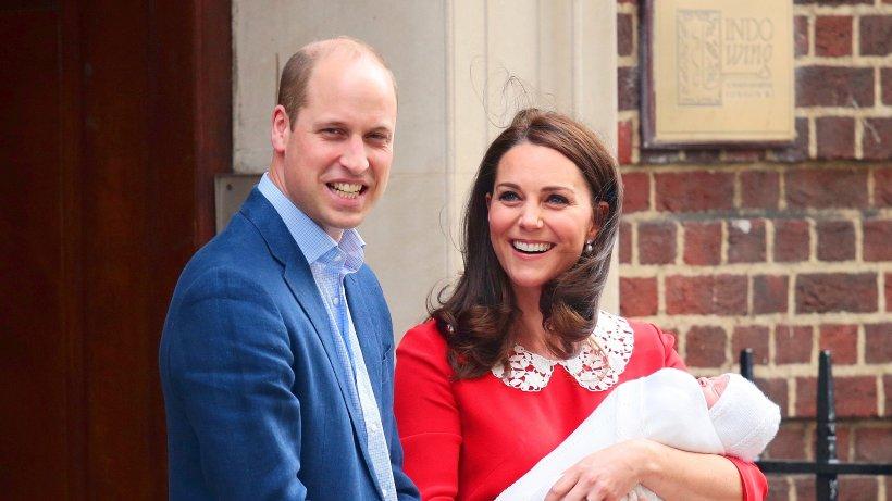 Kate Middleton Und Prinz William Zum Dritten Mal Eltern Panorama