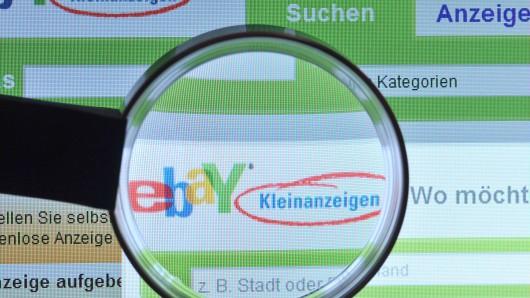 In Hamburg inserierte eine 40-Jährige ihren Ehemann über die Weihnachtstage auf eBay-Kleinanzeigen. (Symbolbild)