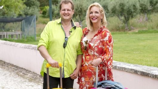 Malle-Jens und Kult-Auswanderer Jens Büchner (48) mit seiner Ehefrau Daniela Büchner (40)