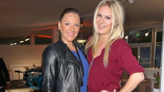 Simone Ballack (li.) und Magdalena Breszka.
