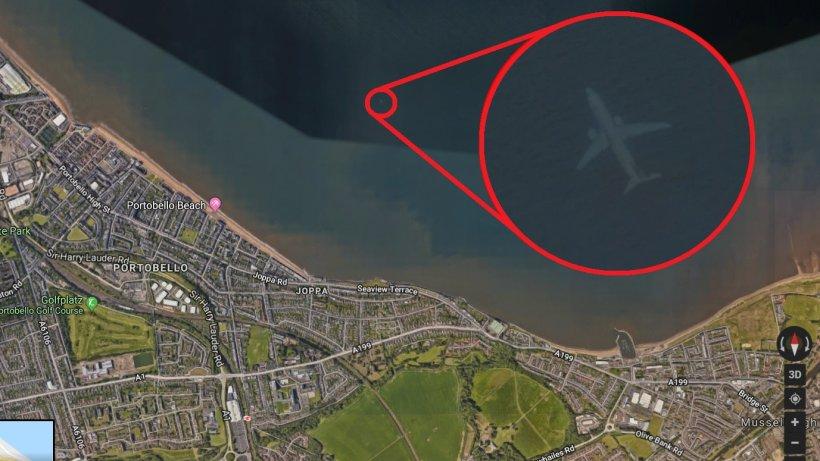 Creepy Google Maps on