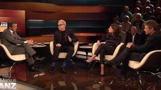 Markus Lanz diskutierte im ZDF mit Herbert Grönemeyer, Journalistin Claudia Kade und Robert Habeck (Grüne).