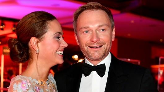 Christian Lindner und seine neue Freundin Franca Lehfeldt bei der Bambi-Verleihung.