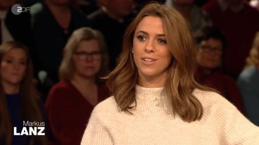 Vanessa Mai war zu Gast bei Markus Lanz im ZDF.