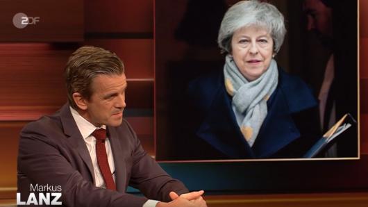 """Bei """"Markus Lanz"""" im ZDF unterhielten sich die Gäste über den Brexit und Theresa May."""