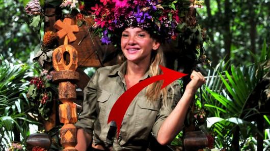 Evelyn Burdecki ist Dschungelkönigin 2019.