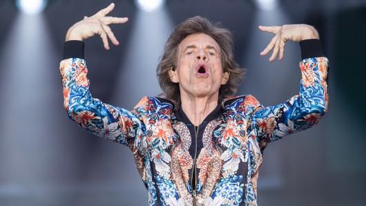 Frontmann Mick Jagger hat die Tour gut überstanden.