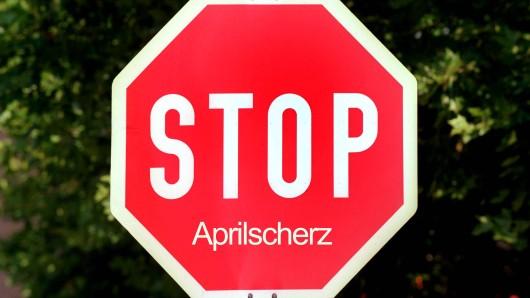 Wegen eines Aprilscherzes musste die Polizei Bremen am Montag ausrücken. (Symbolfoto)