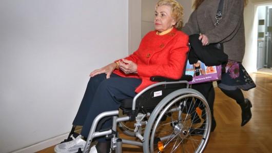 Die 85-jährige Ingrid Millgramm soll Waren im Wert von 17,63 Euro geklaut haben.