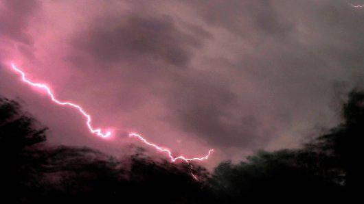 Heftige Unwetter zogen am Mittwoch über NRW her.