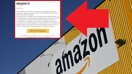 Amazon: Betrüger versuchen derzeit mit Phishing-Mails Nutzer hinters Licht zu führen.