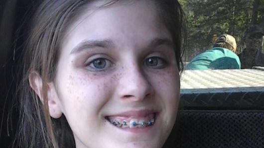 Jessica Ogltree teilte das Bild ihrer Tochter Haly auf Facebook.