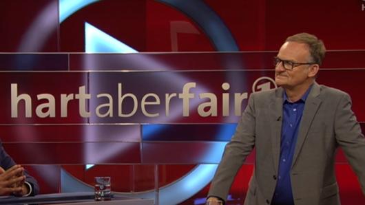 """Bei """"Hart aber fair"""" in der ARD sprach Frank Plasberg über das Thema Pflege,"""