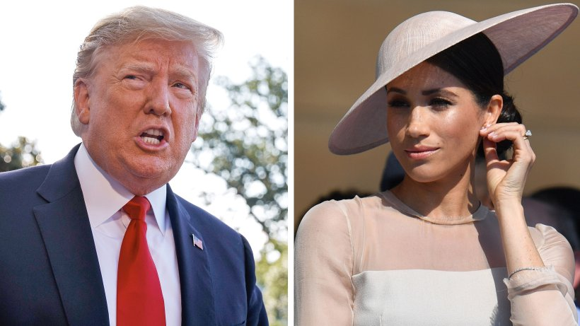 Duchess Meghan 'was nasty to me, and that's OK', Trump says in new interview