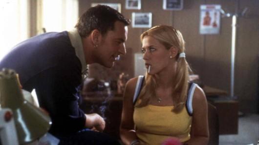 "Alexandra Neldel als Melanie ""Zuckermäusken"" in ""Bang Boom Bang"" (1999) – ihrem ersten Kinofilm."