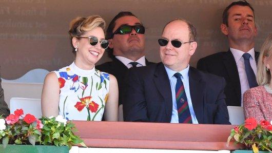 Jazmin Grace Grimaldi (27) mit ihrem Vater Fürst Albert.
