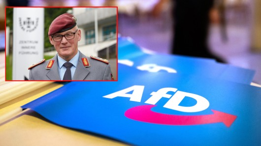 Das Verteidigungsministerium hat die Ermittlungen gegen Generalmajor Zudrop aufgenommen. Er soll Soldaten, die die AfD wählen, bei einer Dienstversammlung verurteilt haben.