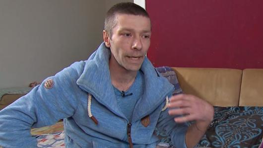 """""""Hartz 4""""-Empfänger Dennis aus Chemnitz will Frührente beantragen."""