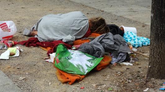 Obdachlosigkeit ist in vielen Ländern auf der Welt ein Problem. (Symbolfoto)