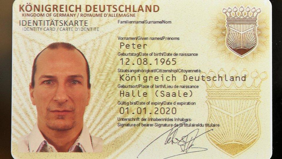 Reichsbürger Ausweis Gültig