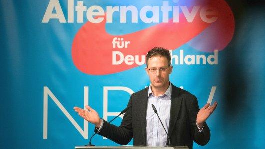 Marcus Pretzell, der AfD-Landesvorsitzende in NRW. Er soll getrickst haben bei der Vergabe von Listenplätzen für die Landtagswahl im Mai 2017.