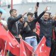 Erdogananhänger in Wien protestieren gegen den Putschversuch in der Türkei PUBLICATIONxINxGERxSUIxAUTxHUNxONLY 1057304720Erdogananhänger in Vienna Protest against the Coup attempt in the Turkey PUBLICATIONxINxGERxSUIxAUTxHUNxONLY 1057304720