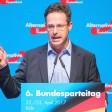 Der nordrhein-westfälische AfD-Parteivorsitzende Marcus Pretzell spricht am 22.04.2017 beim Bundesparteitag der Alternative für Deutschland im Maritim Hotel in Köln (Nordrhein-Westfalen). Foto: Rolf Vennenbernd/dpa +++(c) dpa - Bildfunk+++