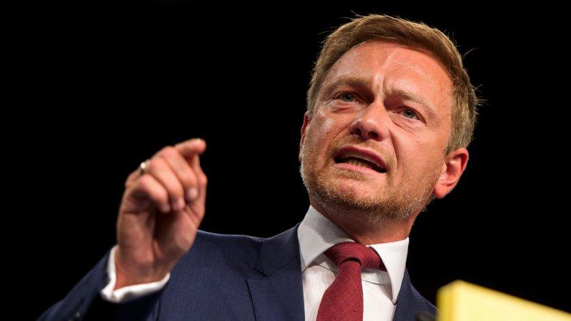 christian lindner mit 91 prozent als fdp-chef best u00e4tigt - politik