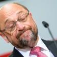 Der SPD-Vorsitzende Martin Schulz äußert sich am 14.05.2017 bei der Wahlparty der Sozialdemokratischen Partei Deutschlands (SPD) in der Parteizentrale in Berlin zur Landtagswahl in Nordrhein-Westfalen (NRW). Foto: Bernd von Jutrczenka/dpa +++(c) dpa - Bildfunk+++