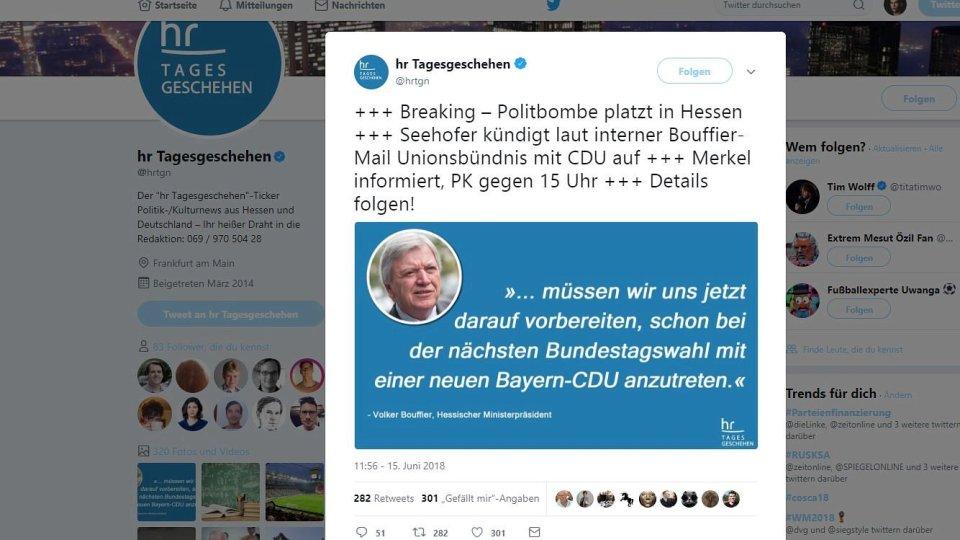 Satiremeldung Sorgt Für Wirbel U2013 So Verteidigt Sich Twitter   Politik    Derwesten.de