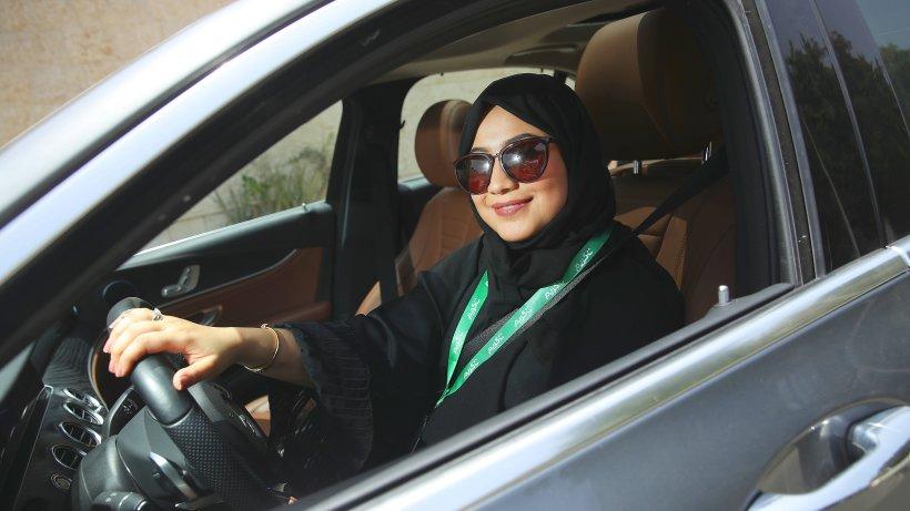 Saudi Arabien Frauen Autofahren