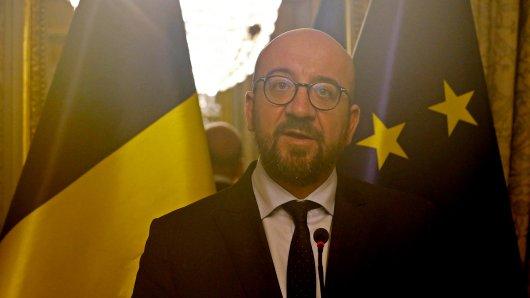 Belgiens Ministerpräsident Charles Michel steht wegen des UN-Migrationspakts vor einem Scherbenhaufen.