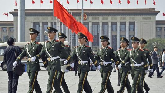 China rüstet weiter auf. Das Militärbudget steigt von Jahr zu Jahr.