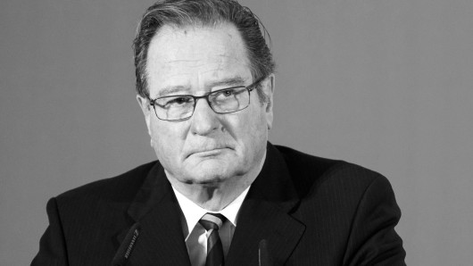 Klaus Kinkel ist tot.