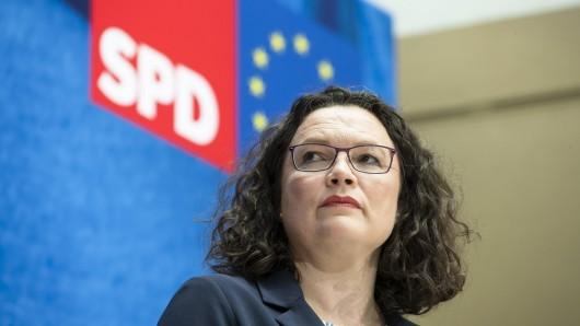 Andrea Nahles steht sinnbildlich für das Scheitern der SPD.