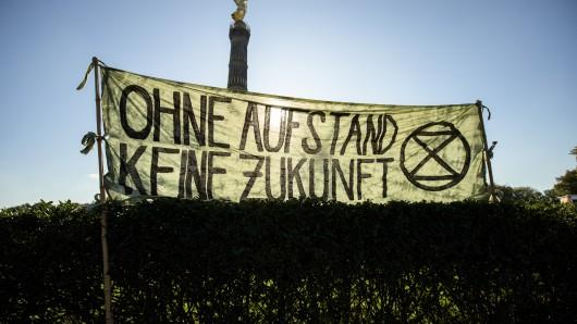 Am Montag gab es in Berlin keine Proteste von Fridays for Future, dafür aber von einer anderen Bewegung - die wollte für ein Verkehrschaos sorgen.